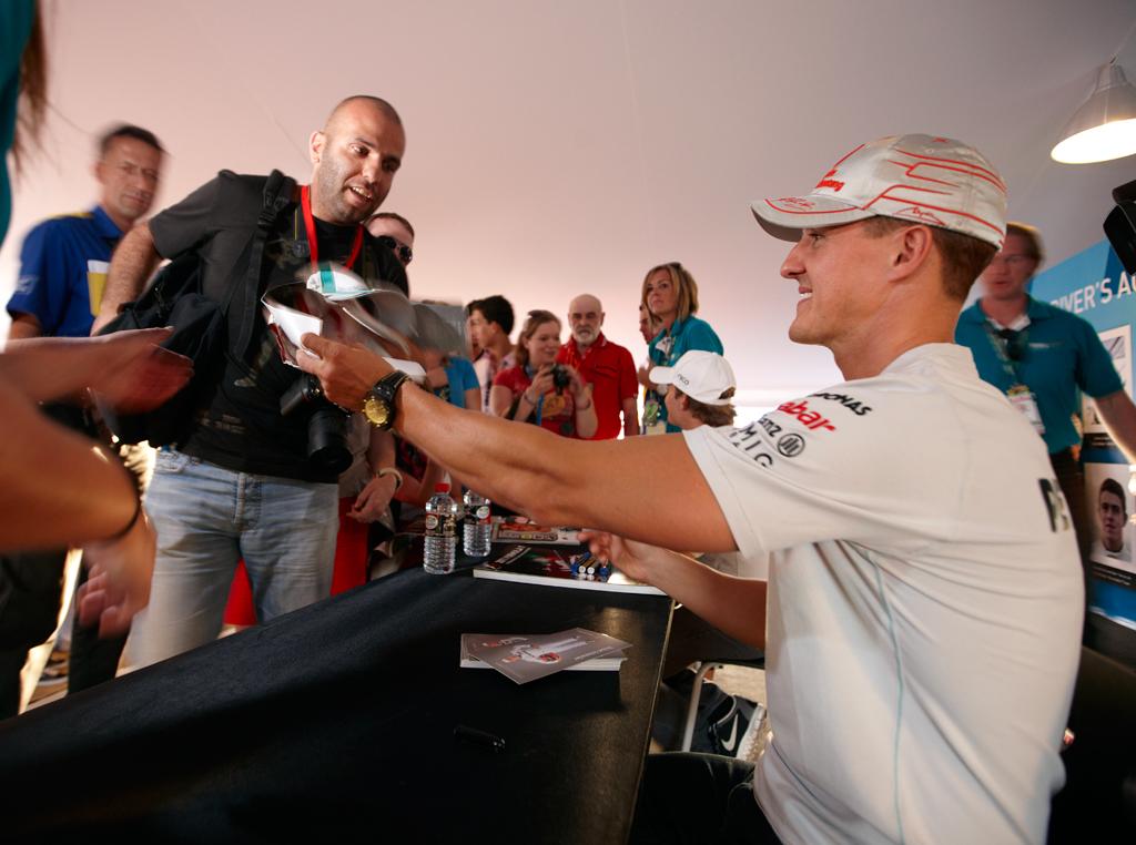 Schumacher se polako budi