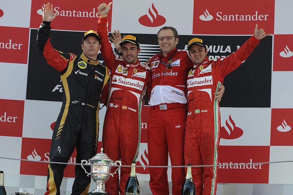 Alonso posvetio mjesto na postolju Domenicaliju