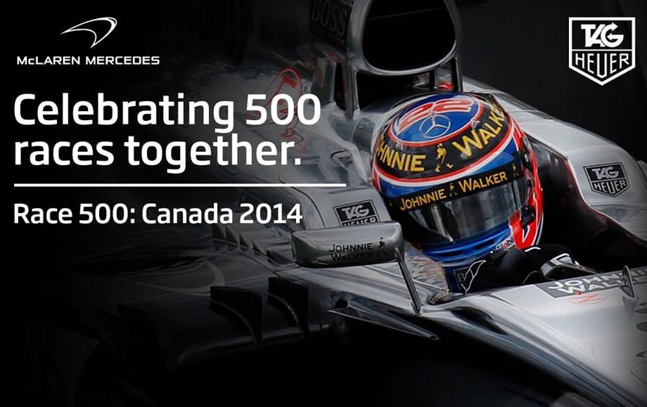 McLaren slavi 500-tu utrku s Tag Heuerom