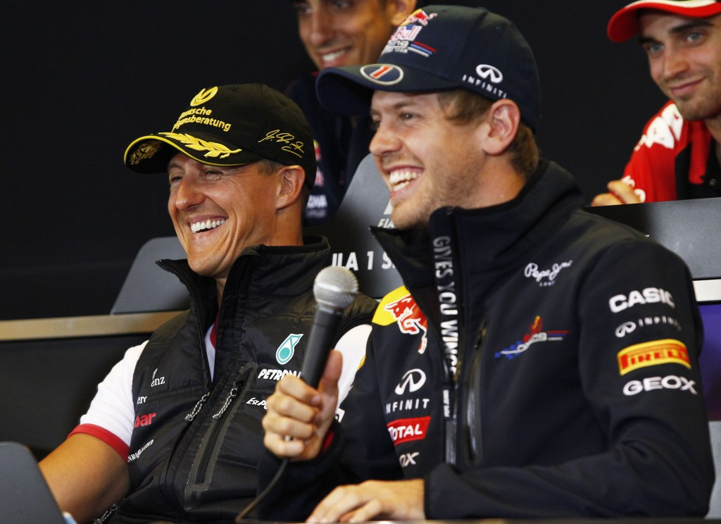 Vettel: Vijesti o Schumacheru su malo čudo