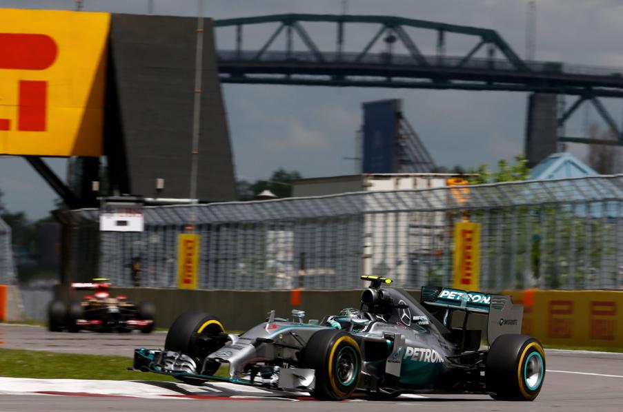 Nico Rosberg najbrži u kvalifikacijama za VN Kanade