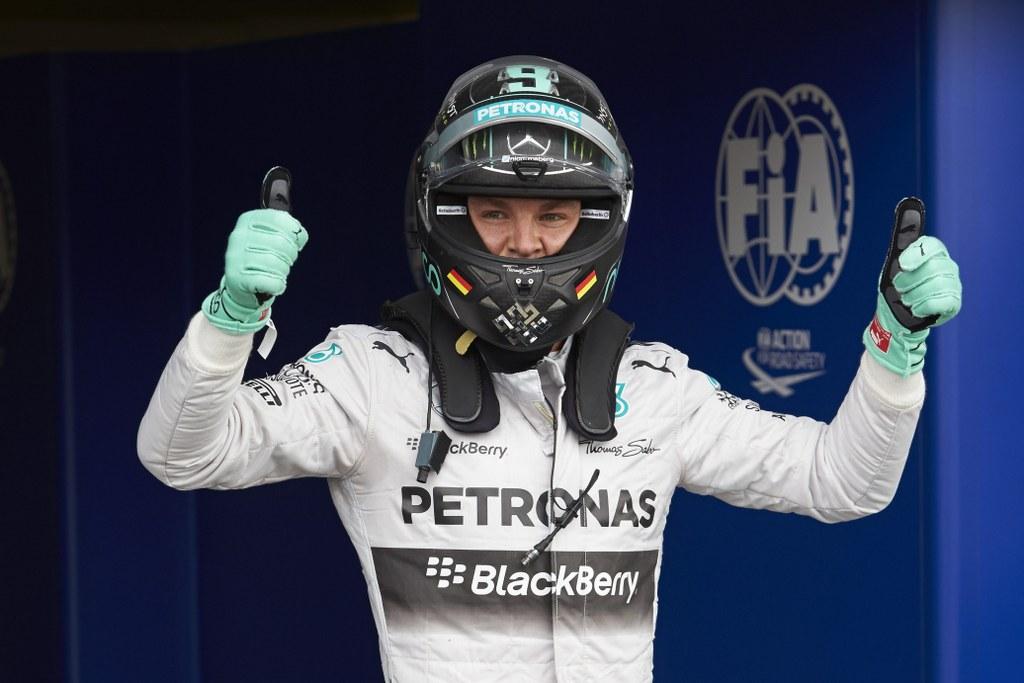 Rosberg presretan osvojenim pole positionom