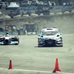 Video dana: Lewis Hamilton vs Ken Block, F1 vs reli auto