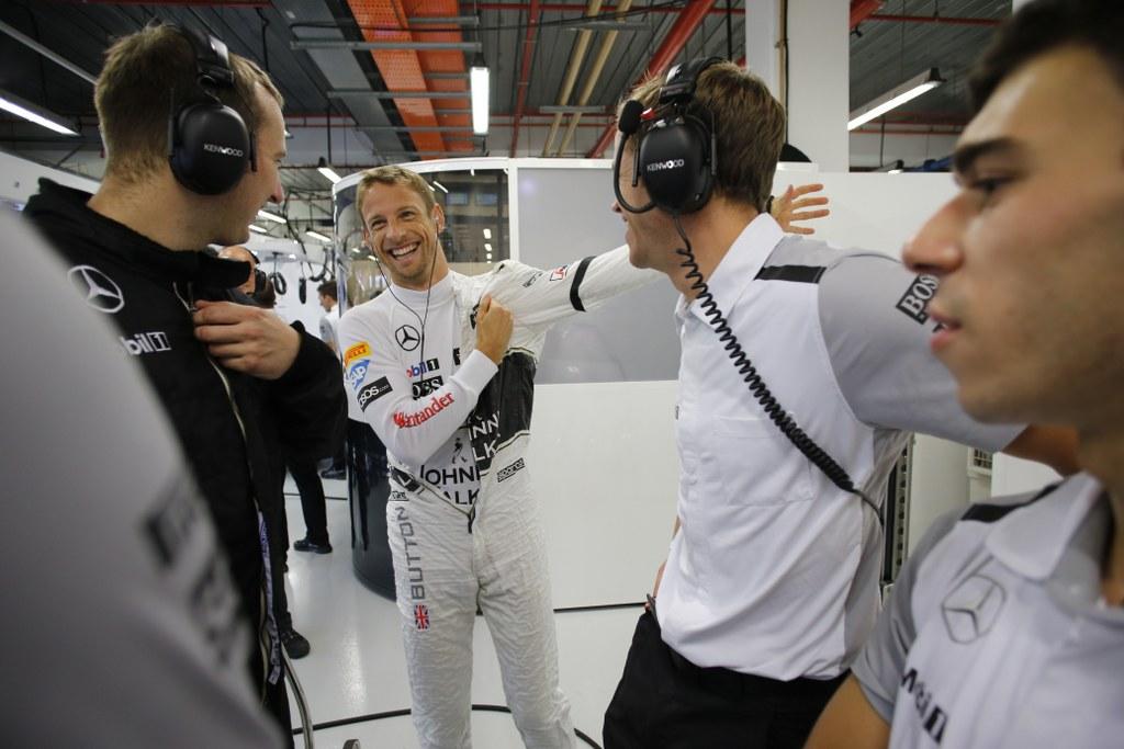 Button nema ništa protiv da mu Alonso sljedeće godine bude momčadski kolega