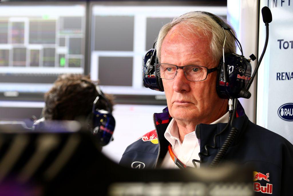 Helmut Marko, Red Bull media