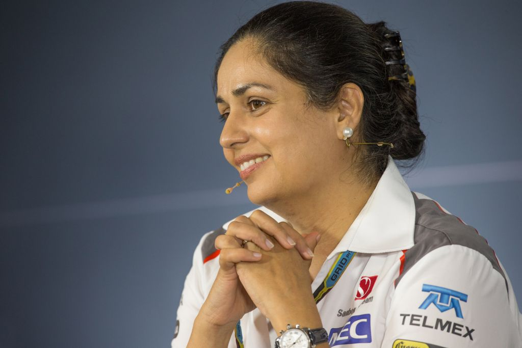 Monisha Kaltenborn, Sauber media