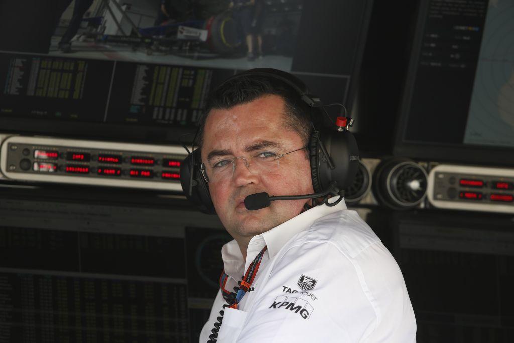 Eric Boullier, McLaren media