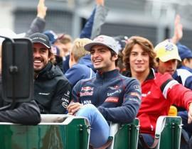 Fernando Alonso i Carlos Sainz, Toro Rosso media