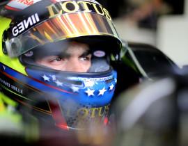 Pastor Maldonado (VEN) Lotus F1 E23. Hungarian Grand Prix, Saturday 25th July 2015. Budapest, Hungary.