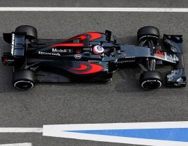 Circuit de Catalunya, Barcelona, Spain Wednesday 24 February 2016. Jenson Button, McLaren MP4-31 Honda. World Copyright: Steven Tee/LAT Photographic ref: Digital Image _X0W9841