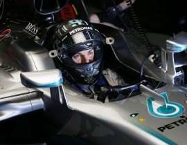 Nico Rosberg, Mercedes media