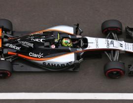 Sergio Perez, Force India media