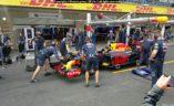 Red Bull F1 trening