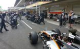 Sahara Force India trening