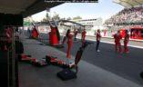 Team Ferrari prije utrke