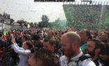 Proslava s Mercedes AMG F1 teamom ispod podija