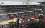 Vettel slavi svoje prvo postolje posle pet utrka suše ispred tifossa, VN Italije.