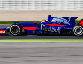 Toro Rosso STR12, Pre-season testing 2017