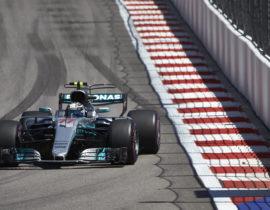 Formel 1 - Mercedes-AMG Petronas Motorsport, Großer Preis von Russland 2017. Valtteri Bottas ;  Formula One - Mercedes-AMG Petronas Motorsport, Russian GP 2017. Valtteri Bottas;