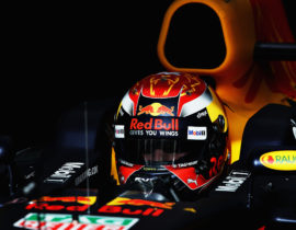 BAHRAIN, BAHRAIN - APRIL 15: Max Verstappen of Netherlands and Red Bull Racing prepares to drive during final practice for the Bahrain Formula One Grand Prix at Bahrain International Circuit on April 15, 2017 in Bahrain, Bahrain.  (Photo by Mark Thompson/Getty Images)