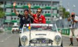Max Verstappen, Sebastian Vettel, VN Kanade 2017