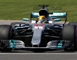 Lewis Hamilton Kanada 2017