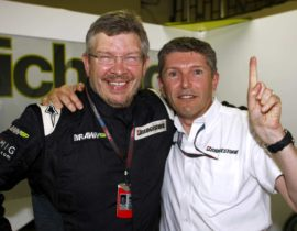Ross Brawn i Nick Fry