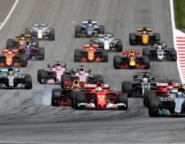 Start utrke, VN Austrije 2017