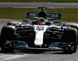 Lewis Hamilton VN Britanije 2017