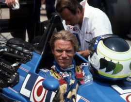 Stefan+Johansson+Ligier+F1