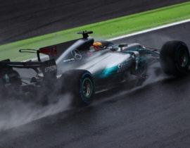 Lewis Hamilton Monza 2017