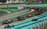 Start utrke, VN Abu Dhabija 2017