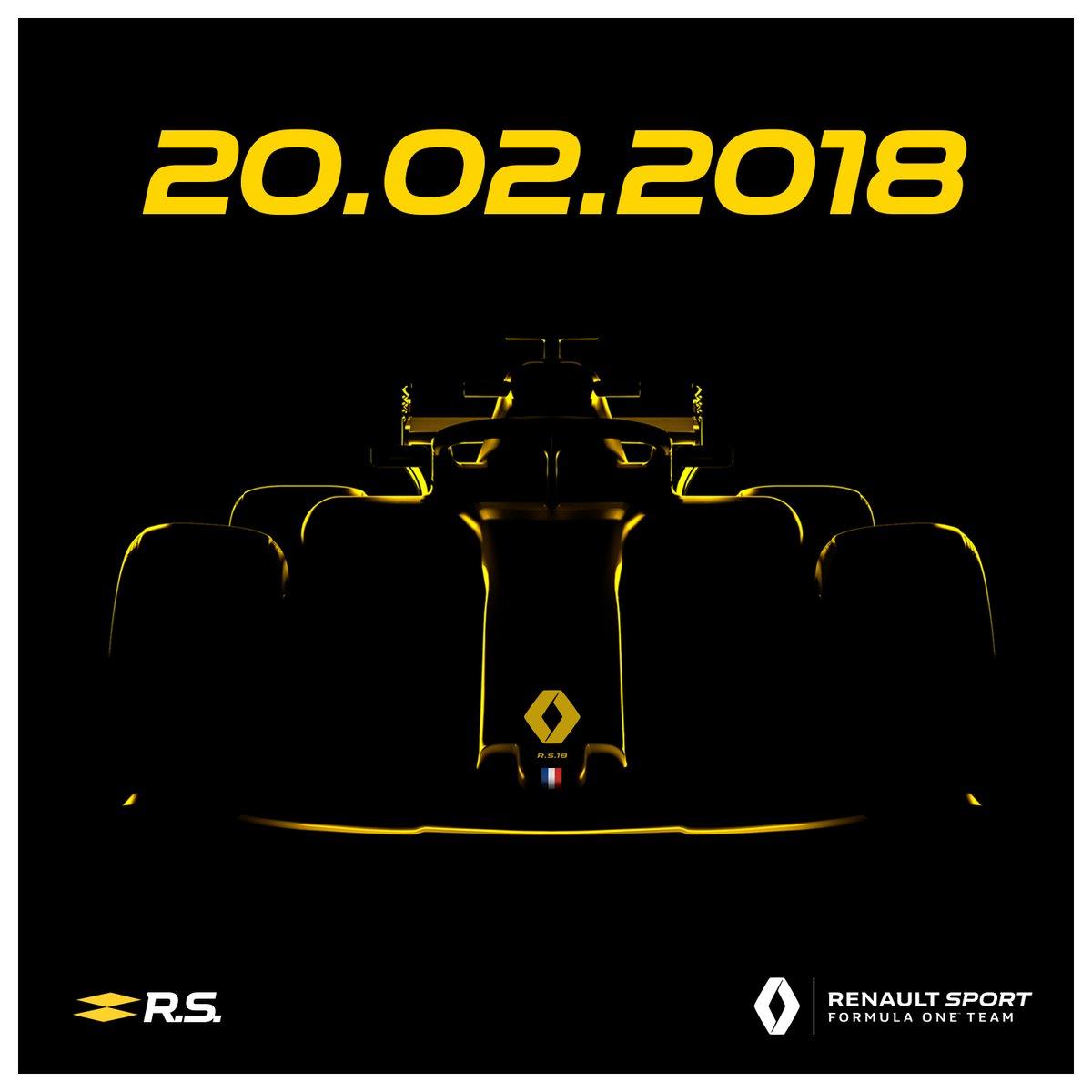Renault otkrio datum predstavljanja bolida