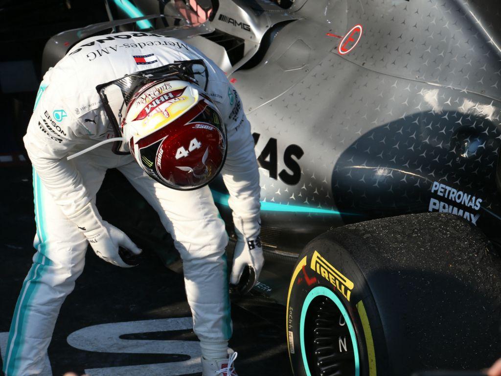 Pogledajte u kakvom stanju je Hamiltonov bolid bio nakon utrke