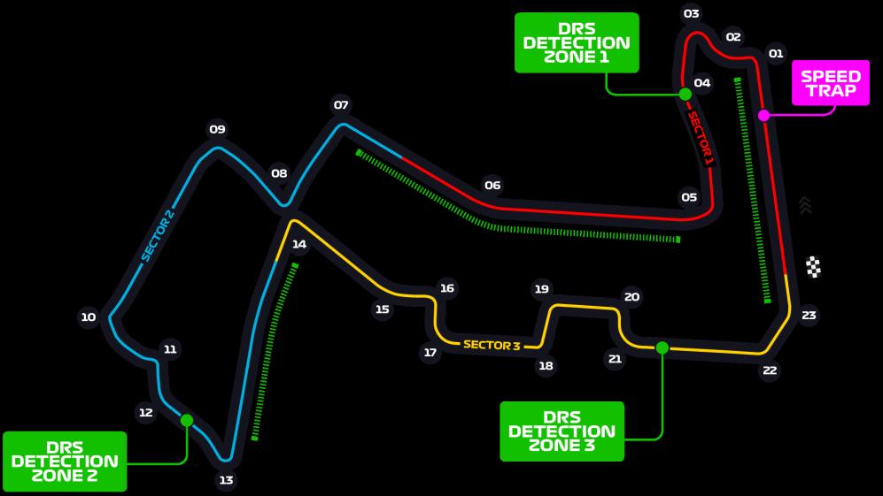 Dodana treća DRS zona na stazi Marina Bay u Singapuru